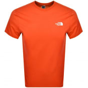 Product Image for The North Face Simple Dome T Shirt Red