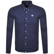 Product Image for Pretty Green Edward Long Sleeved Shirt Navy