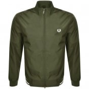 Product Image for Fred Perry Twin Tipped Jacket Green