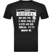Product Image for Diesel T Diego S1 Short Sleeved T Shirt Black
