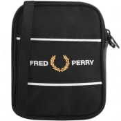 Product Image for Fred Perry Logo Panel Bag Black
