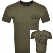 Product Image for Deus Ex Machina Bukman Logo T Shirt Green