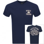 Product Image for Deus Ex Machina Venice Logo T Shirt Navy