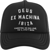 Product Image for Deus Ex Machina Ibiza Logo Trucker Cap Black