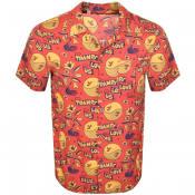 Product Image for Deus Ex Machina Short Sleeve Shirt Red
