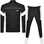Product Image for BOSS Sicon Full Zip Tracksuit Black