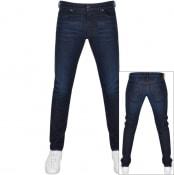 Product Image for Diesel D Luster Slim Fit Jeans Blue
