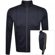 Product Image for HUGO Damazing Full Zip Sweatshirt Navy