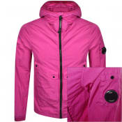 Product Image for CP Company Hooded Jacket Pink