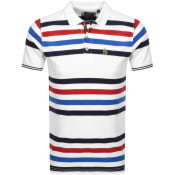 Product Image for Luke 1977 Striped New Mead Polo T Shirt White