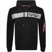 Product Image for Alpha Industries Nasa Hoodie Black