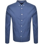 Product Image for Henri Lloyd Cowes Long Sleeved Shirt Blue