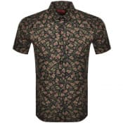 Product Image for HUGO Empson Short Sleeve Shirt Green