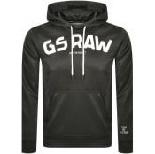 Product Image for G Star Raw Logo Hoodie Grey