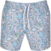 Product Image for Pretty Green Marshall Paisley Swim Shorts Green