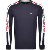 Product Image for Tommy Jeans Crew Neck Sweatshirt Navy