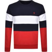 Product Image for Ralph Lauren Crew Neck Sweatshirt Navy