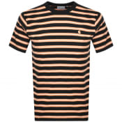 Product Image for Carhartt Oakland Stripe T Shirt Black