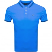 Product Image for Emporio Armani Short Sleeved Polo T Shirt Blue