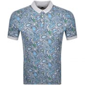 Product Image for Pretty Green Paisley Polo T Shirt Green