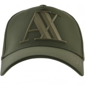 Product Image for Armani Exchange Logo Cap Green