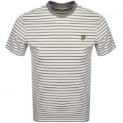 Product Image for Lyle And Scott Multi Striped T Shirt Yellow