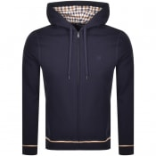 Product Image for Aquascutum Silverstone Full Zip Hoodie Navy