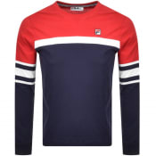 Product Image for Fila Vintage Baden T Shirt Navy