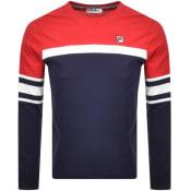 Product Image for Fila Vintage Baden T Shirt Navy