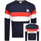 Product Image for Money Block Sig Ape Team Logo Sweatshirt Navy