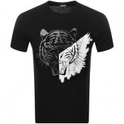 Product Image for Just Cavalli Crew Neck Logo T Shirt Black