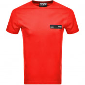 Product Image for Versace Jeans Couture Logo T Shirt Red