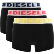 Product Image for Diesel Underwear Kory 3 Pack Trunks Black