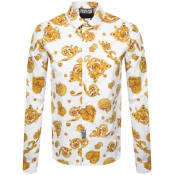 Product Image for Versace Jeans Couture Long Sleeved Shirt White