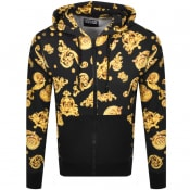 Product Image for Versace Jeans Couture Baroque Hoodie Black
