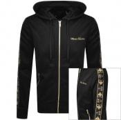 Product Image for Moose Knuckles Full Zip Beltline Hoodie Black