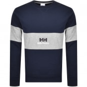 Product Image for Helly Hansen Yu20 Crew Neck Sweatshirt Navy