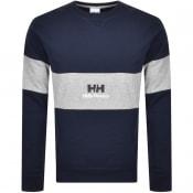 Product Image for Helly Hansen Yu20 Crew Neck Sweatshirt Navy