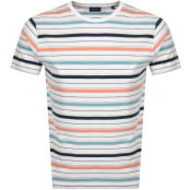 Product Image for Gant Original Multistripe T Shirt White