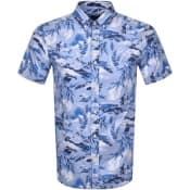 Product Image for Gant Riviera Regular Fit Short Sleeved Shirt Blue
