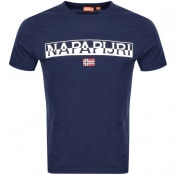 Product Image for Napapijri Saras Solid T Shirt Blue