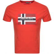 Product Image for Napapijri Sivico T Shirt Red