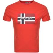 Product Image for Napapijri Sivico T Shirt Red