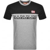 Product Image for Napapijri Saras T Shirt Grey