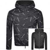 Product Image for Emporio Armani Reversible Logo Jacket Black