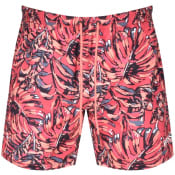 Product Image for BOSS Leaffish Swim Shorts Red