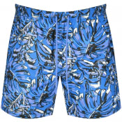 Product Image for BOSS Leaffish Swim Shorts Blue