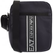 Product Image for EA7 Emporio Armani Logo Shoulder Bag Navy