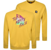 Product Image for The North Face Masters Of Stone Sweatshirt Yellow