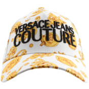 Product Image for Versace Jeans Couture Logo Baseball Cap White
